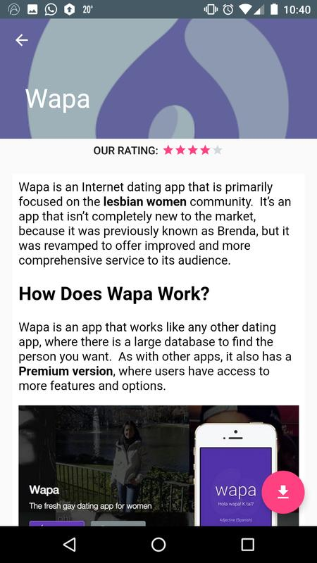 dating apps rating