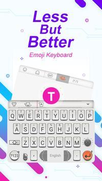 Less But Better Theme&Emoji Keyboard poster