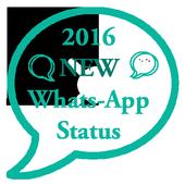 New Whatsapp Status 2016 icon