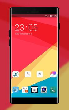 Theme for LG K4: Abstract Skins poster