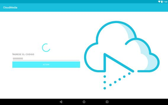 CloudMedia TV apk screenshot