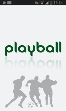 Playball Player poster