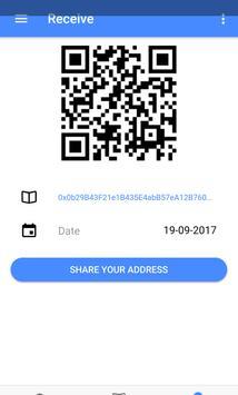 Eycoin Wallet apk screenshot