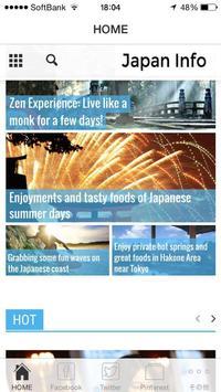Japan Info poster