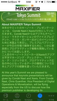 Maxifier Tokyo Summit 2014 screenshot 2