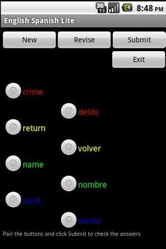 English Spanish GCSE apk screenshot