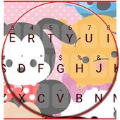 Cute Little Friends Keyboard Theme icon