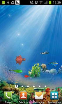 3D Ocean fish live wallpaper apk screenshot