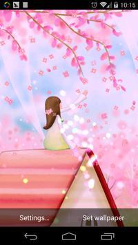 Sakura fairy world lwp 2016 poster