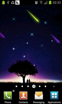 meteor and moon livewallpaper apk screenshot