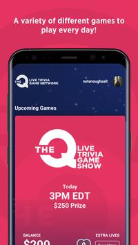 The Q - Live Trivia Game Network स्क्रीनशॉट 1