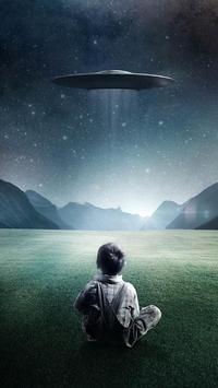 live ufo wallpaper poster