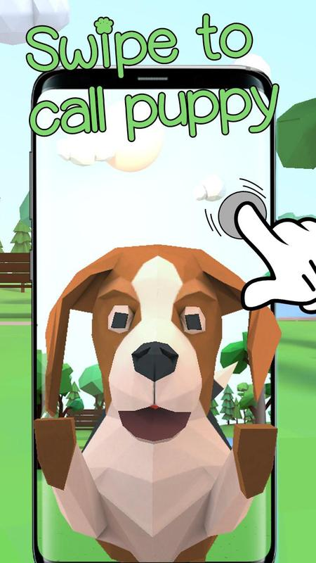 Wallpaper Tema Anak Anjing Lucu Efek Animasi 3d For Android Apk