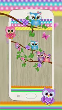 Причудливые Owl Live Wallpaper скриншот 1