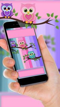 Причудливые Owl Live Wallpaper скриншот 2