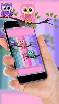 Причудливые Owl Live Wallpaper скриншот 8