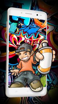 Graffiti Street Live wallpaper poster