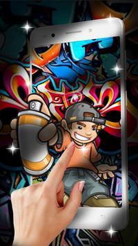 Graffiti Street Live wallpaper screenshot 2