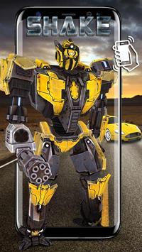 變形戰鬥機器人動態壁紙& 3D金剛主題&桌布 ( 搖晃手機看變形汽車 ) 海報