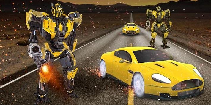 (3D Transformation)  Robot Battle 3D Theme apk screenshot
