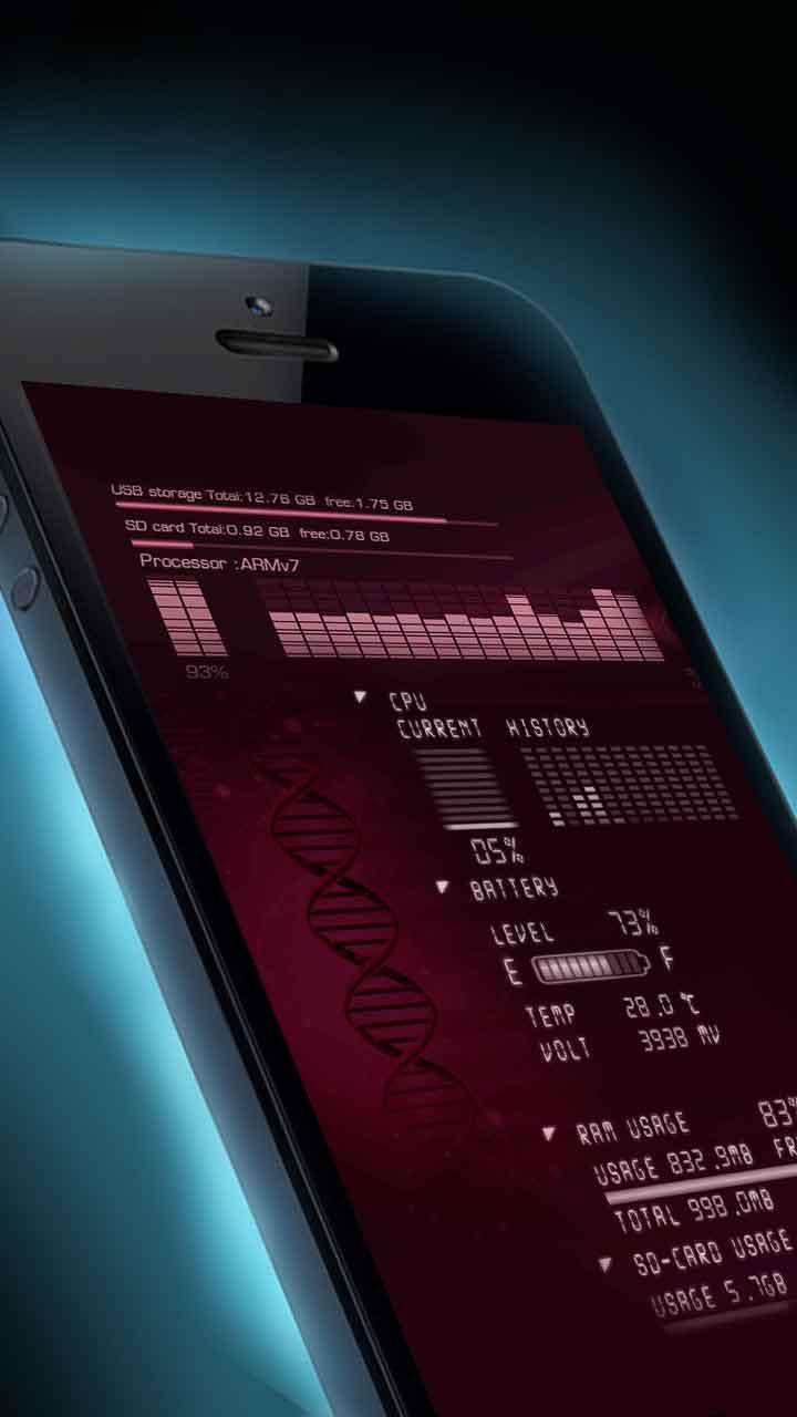 Android 用の デバイス情報ライブ壁紙 Apk をダウンロード