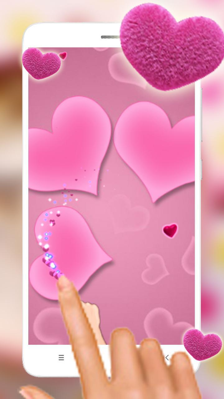 Pink Heart Wallpaper For Android Apk Download