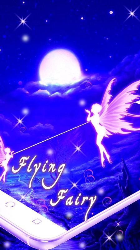 Flying Fairy Live Wallpaper Apk Screenshot