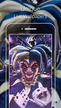 Comics Joker Live wallpaper poster