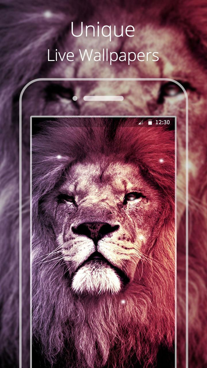 Cool Lion Live Wallpaper For Android Apk Download