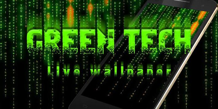 Groen Techniek Live Wallpaper screenshot 3
