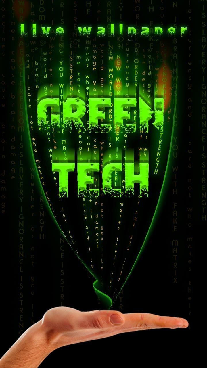 Green Tech Live Wallpaper For Android APK Download