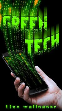 Groen Techniek Live Wallpaper screenshot 2