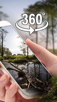 (3D VR панорамный) Лесной кислородный бар Тема постер
