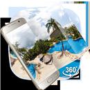 VR панорамный летний морской остров 3D-тема APK