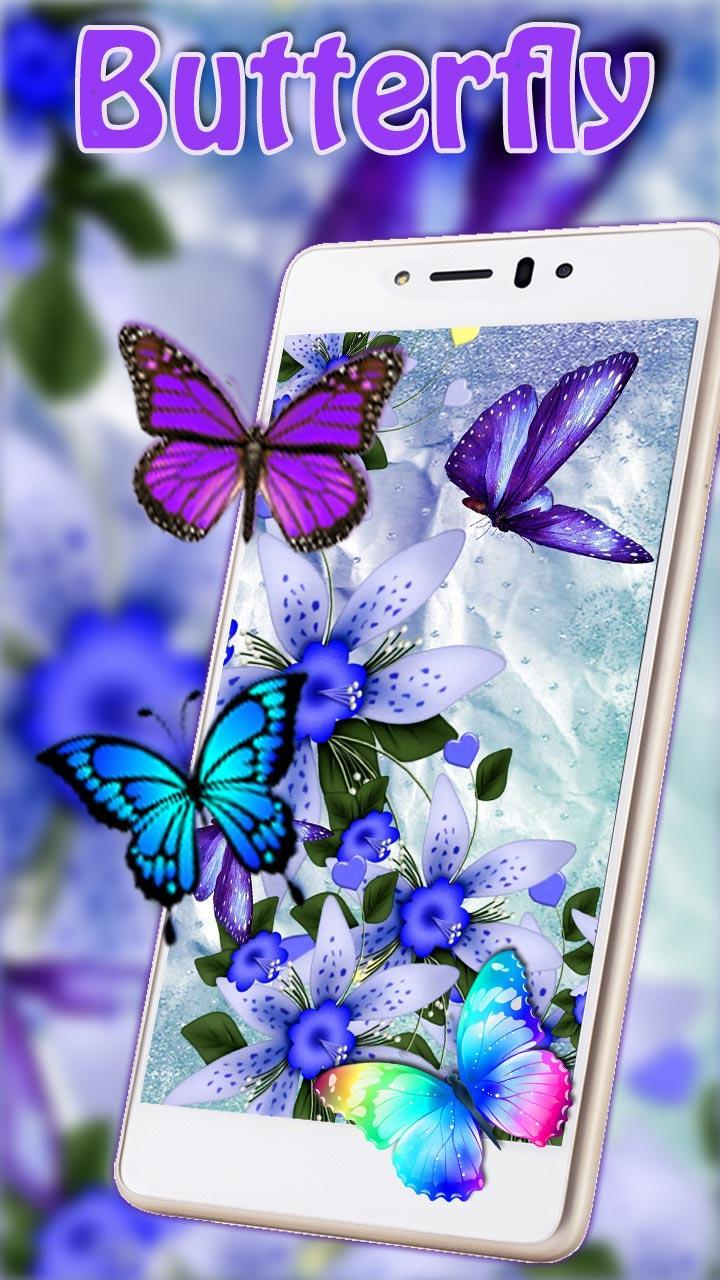 Neon Butterfly Wallpapers For Android Apk Download