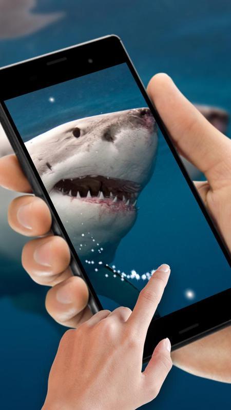 Shark Attack Live Wallpaper Screenshot 2
