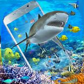 3D鲨鱼海洋主题(摇晃手机获得更多效果) 圖標