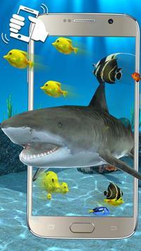 3D鲨鱼海洋主题(摇晃手机获得更多效果) apk 截圖