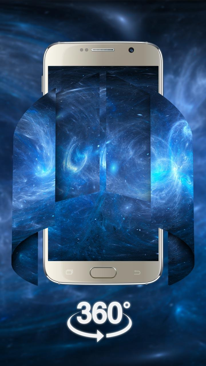 Space Galaxy 3d Live Wallpaper Vr Panoramic For Android Apk Download