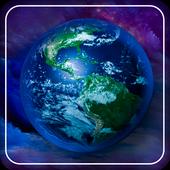 Neon Earth Live WallPaper icon