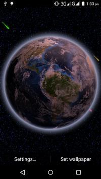 Neon Earth Live WallPaper apk screenshot
