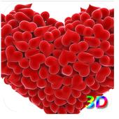 Heart 3D Live WallPaper icon