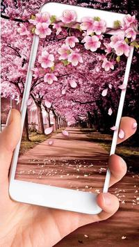 Poster Romantic Sakura Live Wallpaper