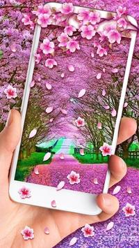 2 Schermata Romantic Sakura Live Wallpaper