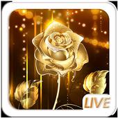 Rose Gold Live Wallpaper APK