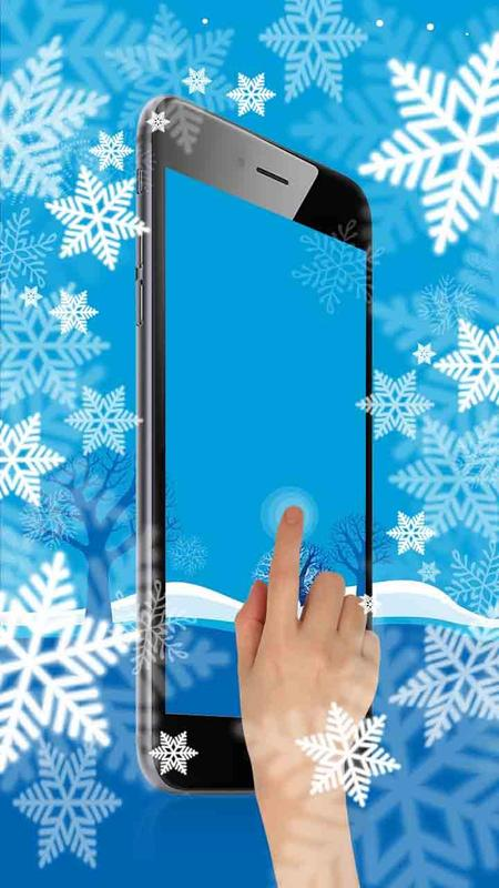 Snow Ice Frozen Live Wallpaper Screenshot 2