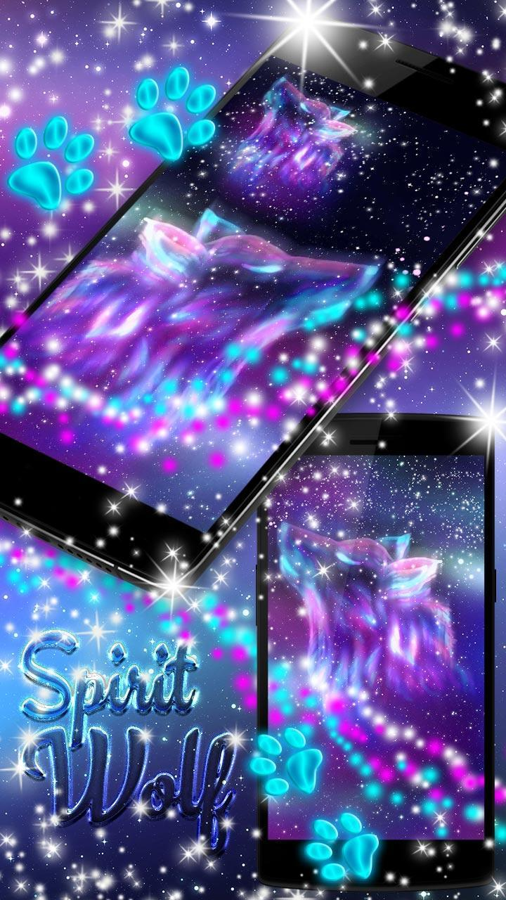 Night Sky Spirit Wolf Live Wallpaper For Android Apk Download