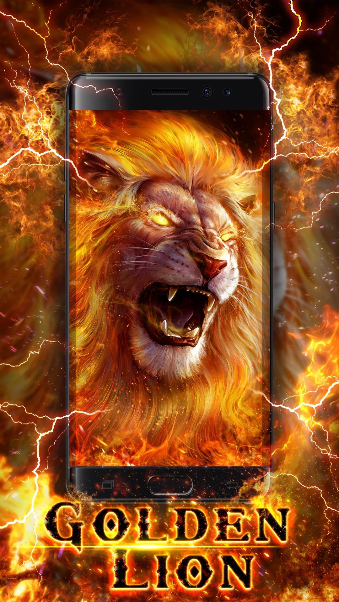 Roaring Lion Live Wallpaper For Android Apk Download