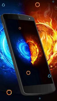 Fire and Ice Lava Live Wallpaper screenshot 2