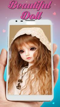 Fluorescent Pink Cute Doll Live wallpaper (FREE) screenshot 2